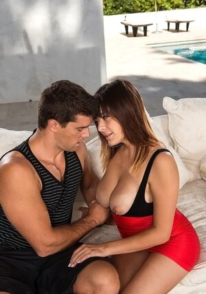 Female has smoking hot wet tits and furthermore it surely is a sufficient amount for neighbor to become excited