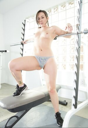 Kitten with terrific pussy is completely sure that naked fitness is much better